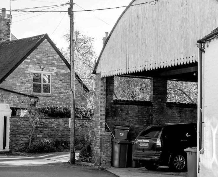 Garage, the Green, Flore, Northamptonshire