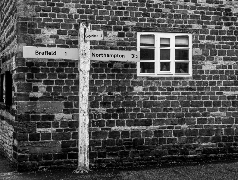 Signpost, Little Houghton, Northamptonshire