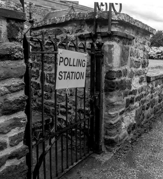 Polling Station, Houghton, Northamptonshire