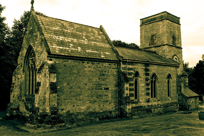 View, Church of  St Mary Magdalene,  Horton, Northamptonshire