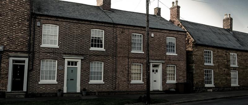Houses, The Green, Hardingstone_