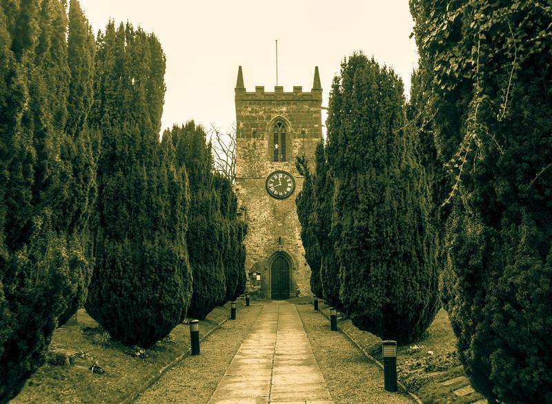 Church tower, High Street, Hardingstone