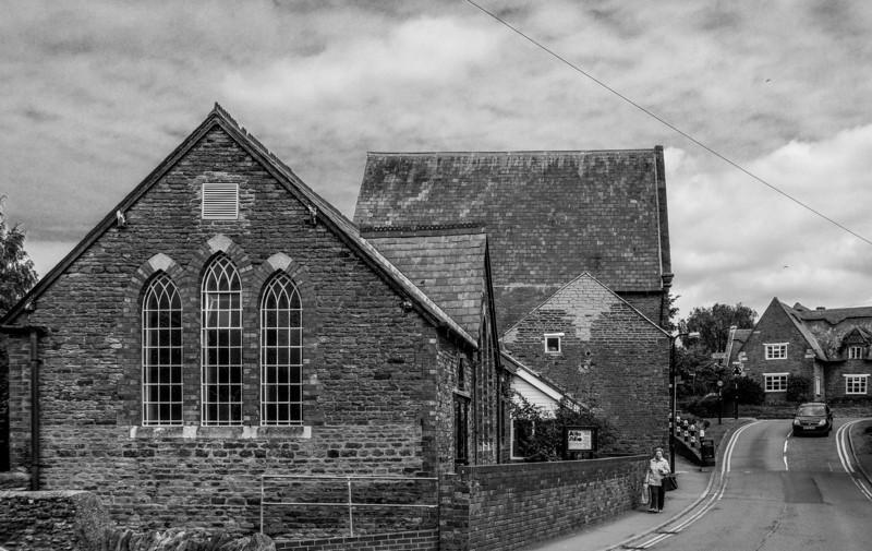 View up Cross Street, Moulton, Northamptonshire