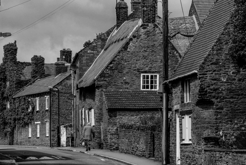 View up West Street, Moulton, Northamptonshire
