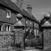 Alms Houses and Churchyard, Ravenstone
