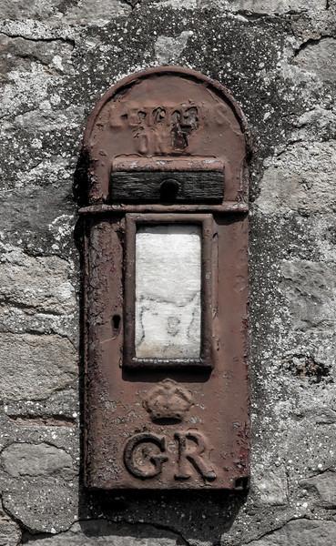 George V post box, Ravenstone