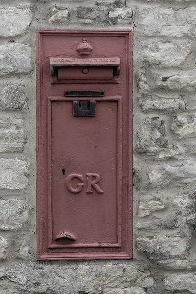 George V Post box, Stoke Goldington
