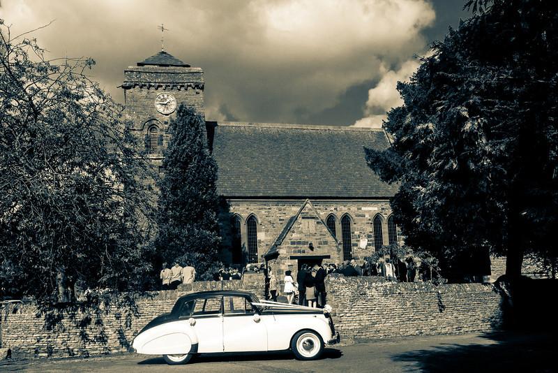Saint Peter's Church, from Church Way, Weston Favell, Northampton