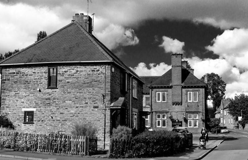 Looking towards the Bold Dragoon, High Street, Weston Favell, Northampton
