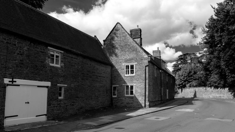Hervey's Cottage and barn, Church Way, Weston Favell, Northampton