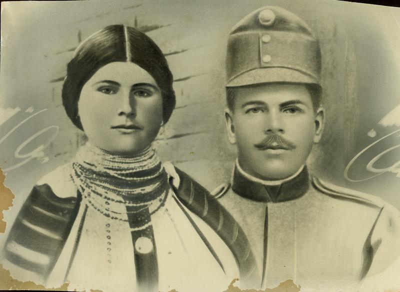 Ганна Корнацька і Степан Цепенюк