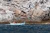 Cinque Terre - fishermen in the Ligurian Sea.