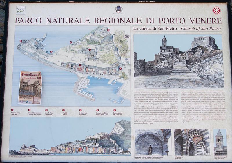 Porto Venere - our gateway to the Cinque Terre.