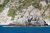 Cinque Terre - small island with a white cross.