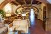 Our agroturimso hotel in rural Tuscany. Lobby area.
