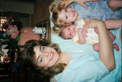 Connie Stewart Villireal, daughter& Lauren-Karen HS friend