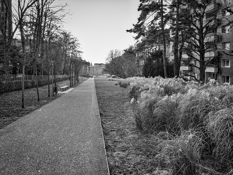 Promenade de la Ficelle à Lausanne