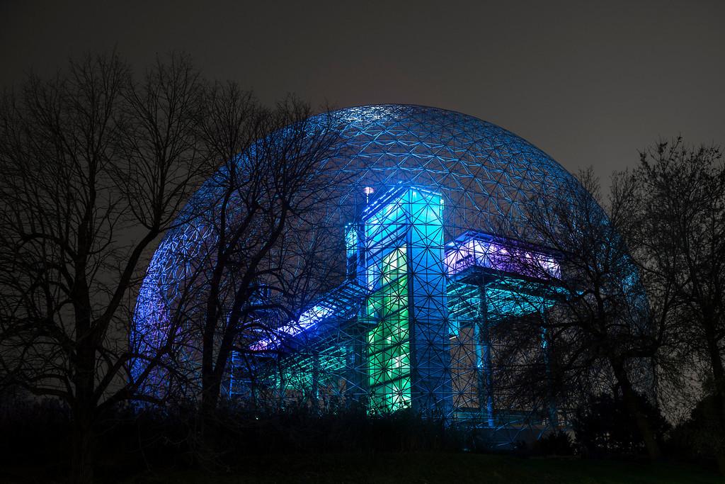 Dôme géodésique/Geodesic Dome