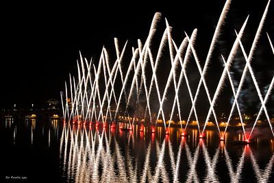 Feu d'artifice Toulouse 14 Juillet 2015