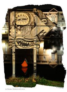 Toulouse, ville nocture