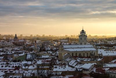 Vilnius from the Gediminas Tower