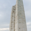 Upper left (south) pylon: Hope (l), Faith (r)<br>Centre, bottom of pylons: Sacrifice<br>Bottom: Names of Canadian soldiers.