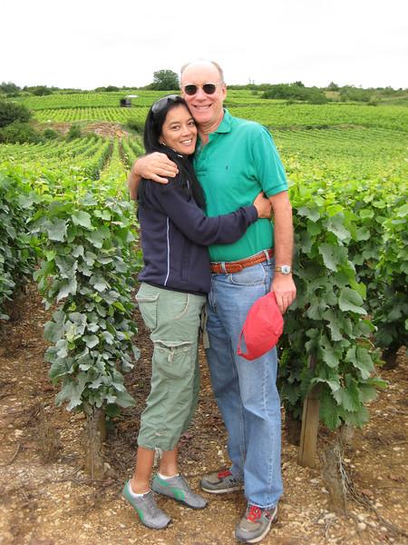 Cassandra and Bob at La Tache