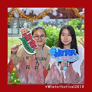 VinSchool The Harmony   Winter Festival 2019 instant print photo booth   Chụp ảnh in hình lấy ngay Sự kiện tại Hà Nội   Photobooth Hanoi
