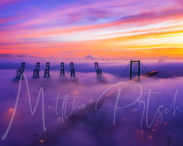 I heard fog horns and ran outside to see an epic sunrise AND fog!!! Check out my story for more! I'll post more later   😁😁😁Print giveaway 😁😁😁 1) tag 2 friends for 1 entry 2) repost on your story 5 entries 3) repost on your IG feed 10 entries  Winner will get an 8x10 matted print of one of the final edits. 👍👍👍👍👍👍👍👍 Contest ends midnight 11/4   #mavicpro2 #djimavicpro2 #sanpedrotoday