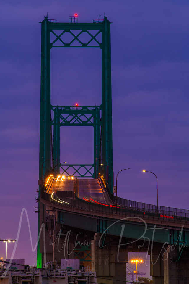 Vincent Thomas Bridge - 5am