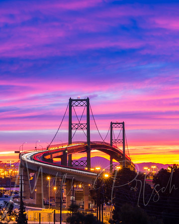 Vincent Thomas Bridge, San Pedro, CA