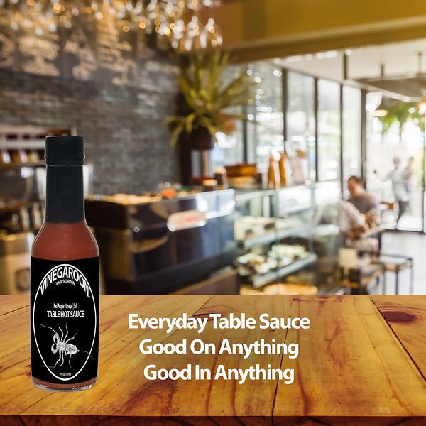 Vinegaroon Table Hot Sauce