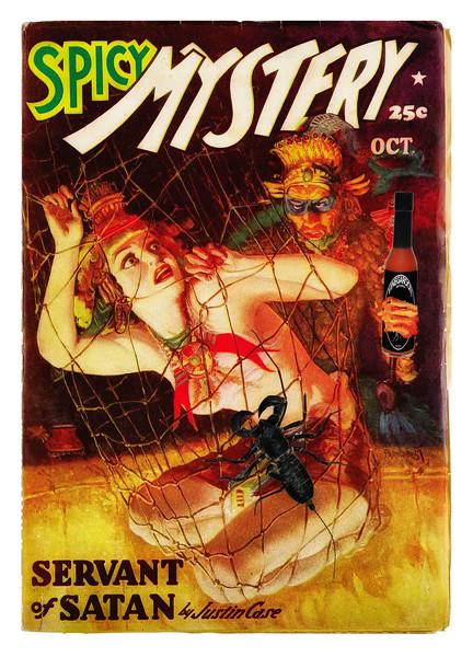 Spicy Vinegaroon Mystery Stories