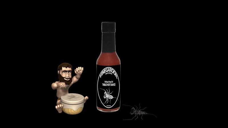 #Vinegaroon Table Hot Sauce | It's Primal