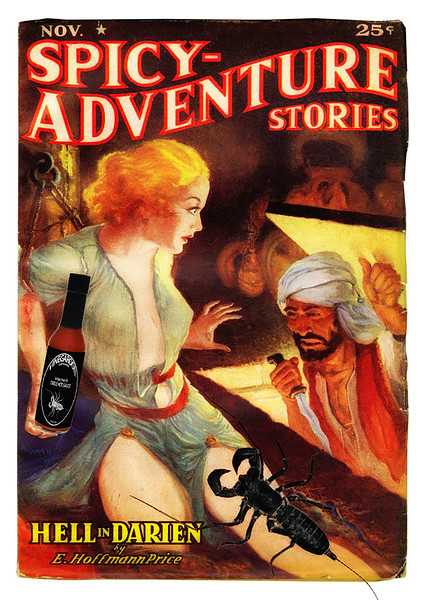 Spicy Vinegaroon Adventure Stories