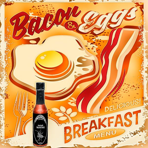 Bacon Eggs #Vinegaroon