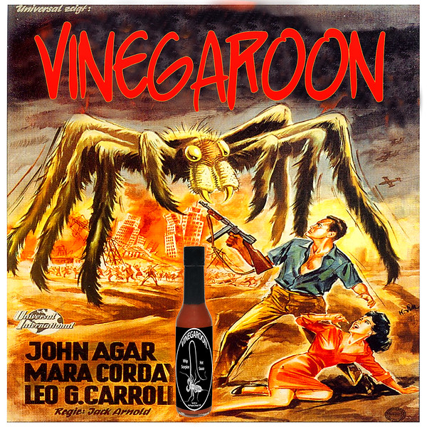 Vinegaroon Table Hot Sauce | 67 Years Of Experience In Every Bottle
