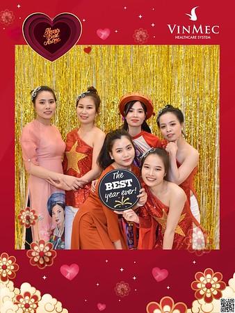Vinmec | Year End Party 2020 instant print photo booth @ Almaz Center | Chụp hình in ảnh lấy liền Tất niên 2020 tại Hà Nội | WefieBox Photobooth Hà Nội