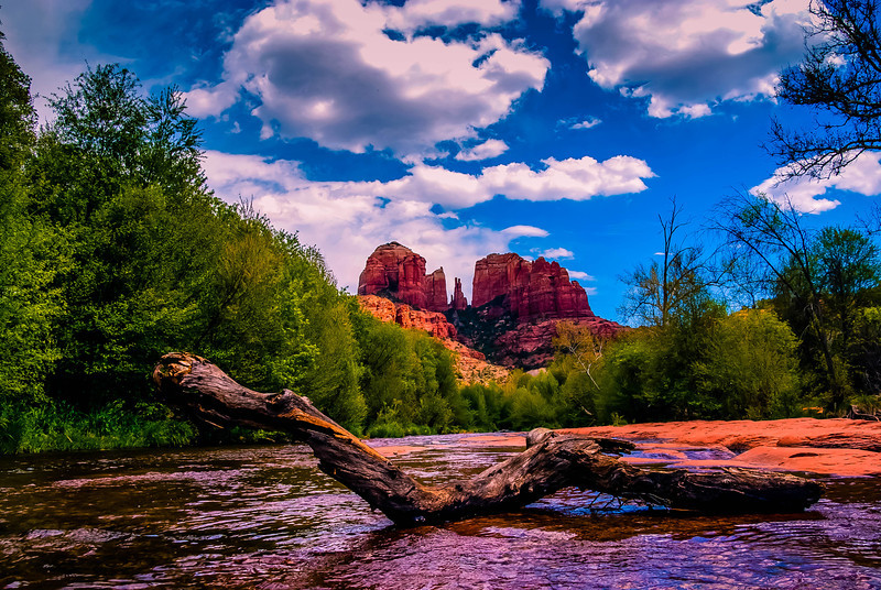 Cathedral Rock in Sedona Arizona.
