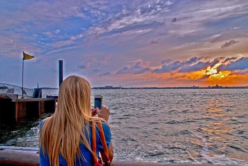 Battery Park Girl