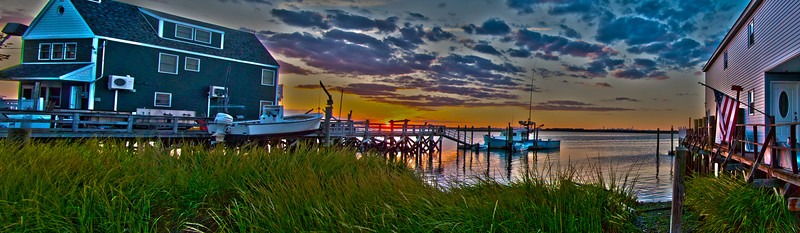 Sunset in Broad Channel