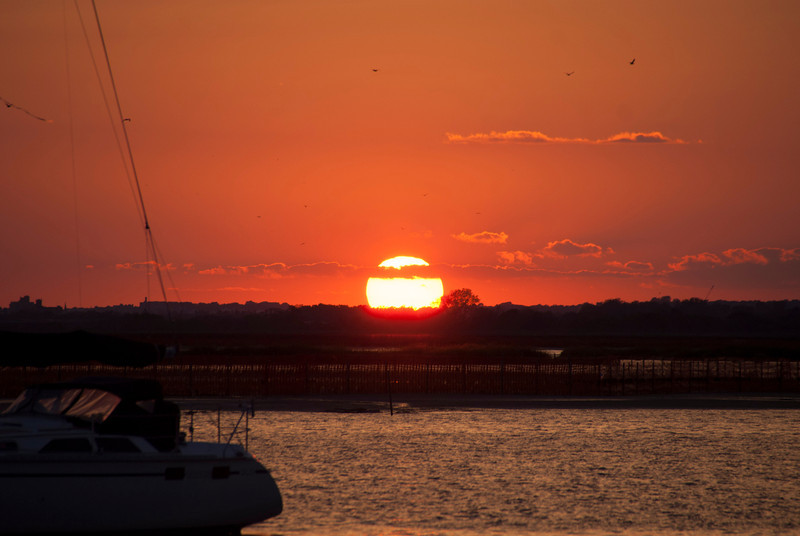 Sunsets in Broad Channel