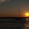 Sunset and Sailboats