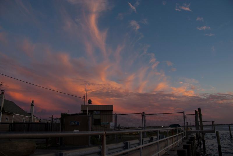 Sunset over Sunset Marina