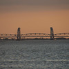 Sunset changes Bridge Colors