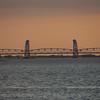Sunset changes Bridge Colors