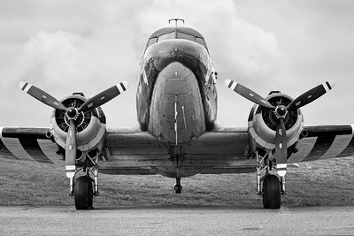 4x5 format Douglass C-47 Skytrain - Gooney Bird