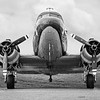 4x5 format Douglass C-47 Skytrain - Gooney Bird