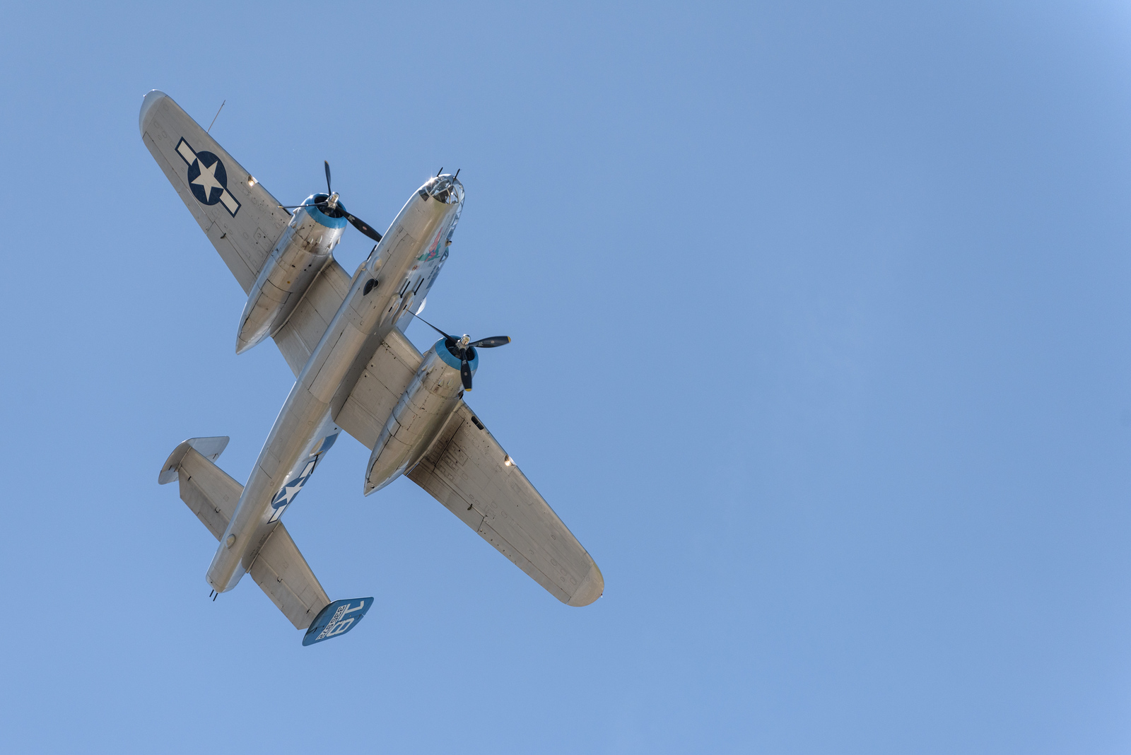 B-25 Maid in the Shade