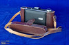 It is an Agfa-Ansco Viking camera, and depending what one might read, it's either from the early 1940s, or from 1946.